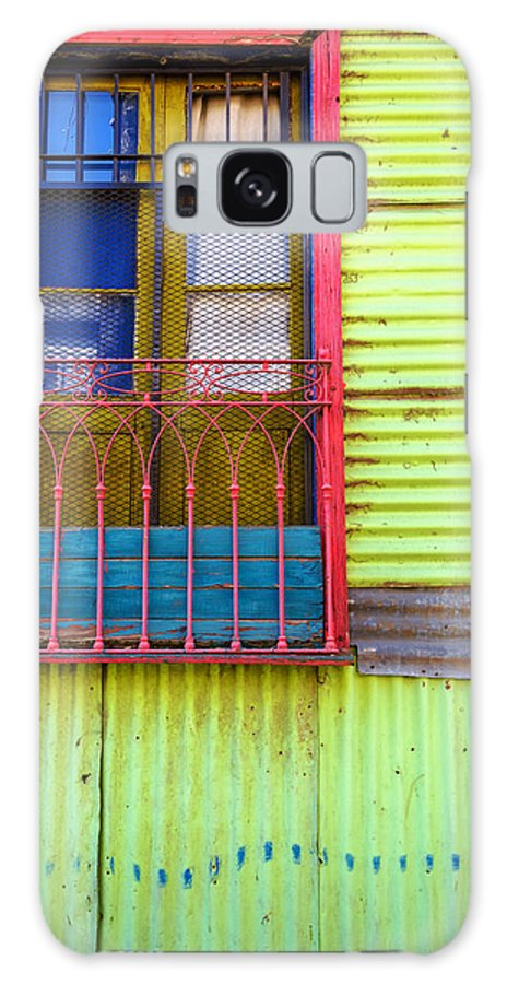 Argentina Galaxy S8 Case featuring the photograph Colorful Window by Jess Kraft
