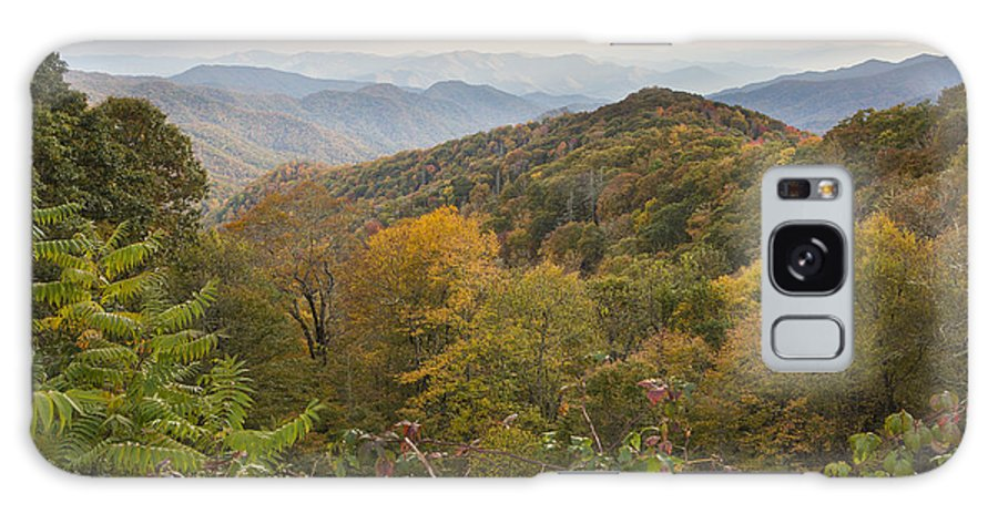 Great Smokey Mountains Galaxy S8 Case featuring the photograph Colors Of Smokey by Randy Lesley