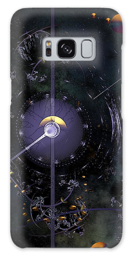 Phil Sadler Galaxy S8 Case featuring the digital art Compass by Phil Sadler