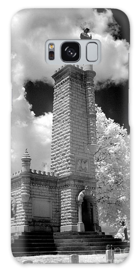 Infrared Galaxy S8 Case featuring the photograph Confederate Resting Place by Paul W Faust - Impressions of Light