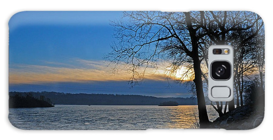 Nature Galaxy S8 Case featuring the photograph Conowingo Sunrise by Olivia Hardwicke