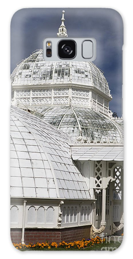Conservatory Of Flowers Galaxy S8 Case featuring the photograph Conservatory Of Flowers Gate Park by Jason O Watson