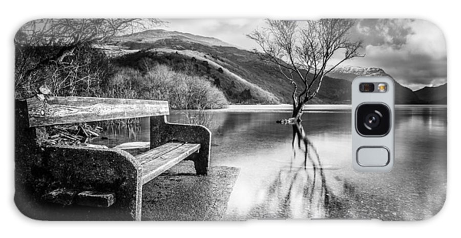 Christinesmart Galaxy S8 Case featuring the photograph Contemplation In Monochrome by Christine Smart