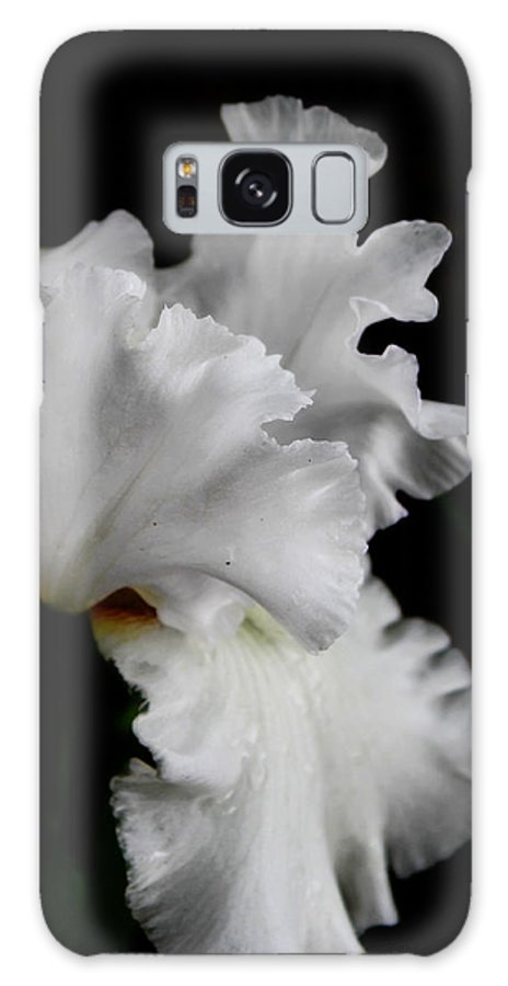 Flower Galaxy S8 Case featuring the photograph Contrast by Valerie Loop
