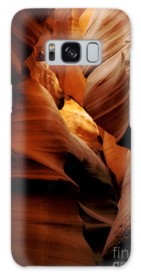 Antelope Canyon Galaxy S8 Case featuring the photograph Convolusions by Kathy McClure