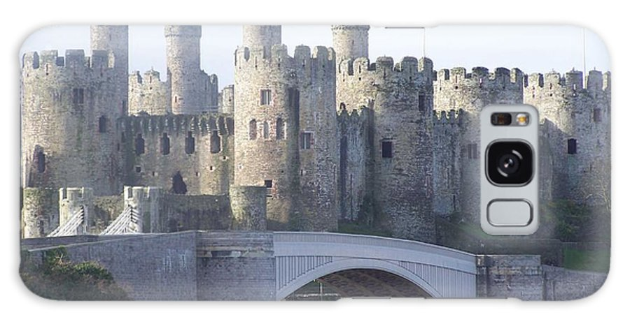 Castles Galaxy Case featuring the photograph Conwy Castle by Christopher Rowlands