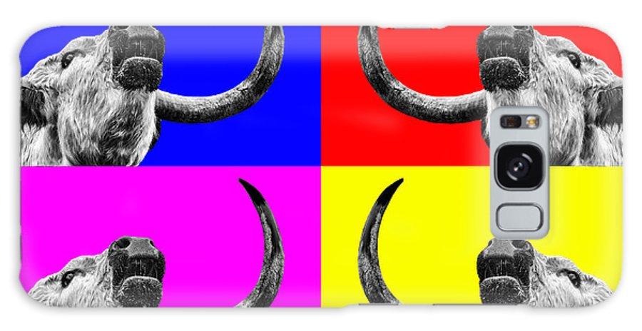 Cow Galaxy S8 Case featuring the photograph Coo Pop Art Too by John Farnan