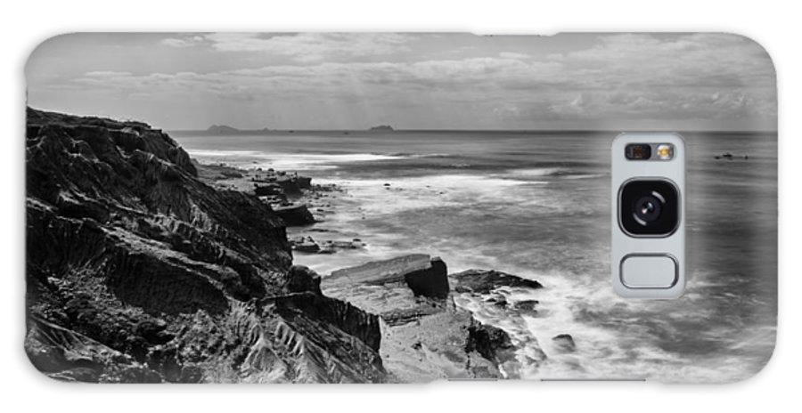 Coronado Islands Galaxy S8 Case featuring the photograph Coronado Islands From Cabrillo by Tanya Harrison