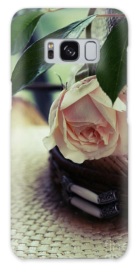 Flower Galaxy S8 Case featuring the photograph Country Rose by Deena Otterstetter