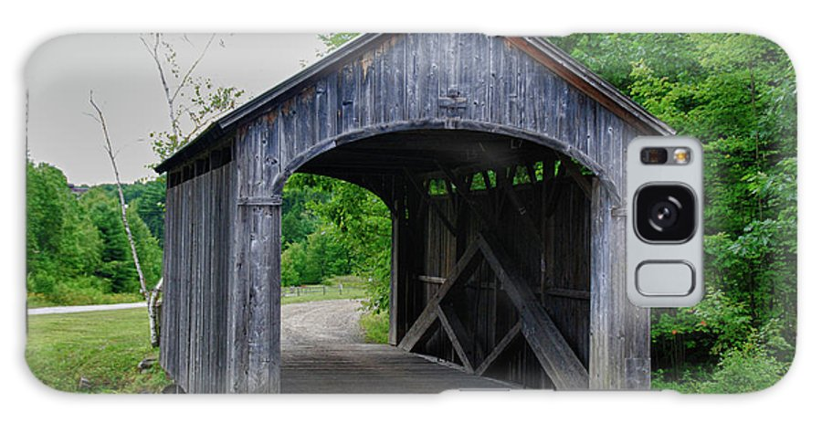 Covered Bridge Galaxy S8 Case featuring the photograph Country Store Bridge 5656 by Guy Whiteley