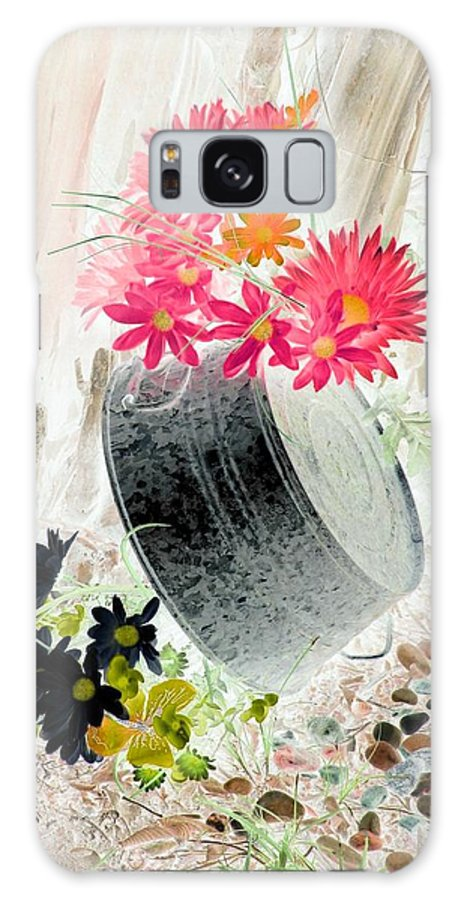 Flower Galaxy S8 Case featuring the photograph Country Summer - Photopower 1501 by Pamela Critchlow