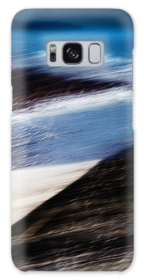 Cornwall Galaxy S8 Case featuring the digital art Cove by Kevin Marston