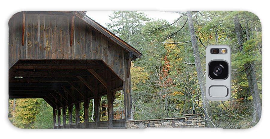 Covered Bridge Photographs Galaxy S8 Case featuring the photograph Covered Bridge by Kristen Mohr