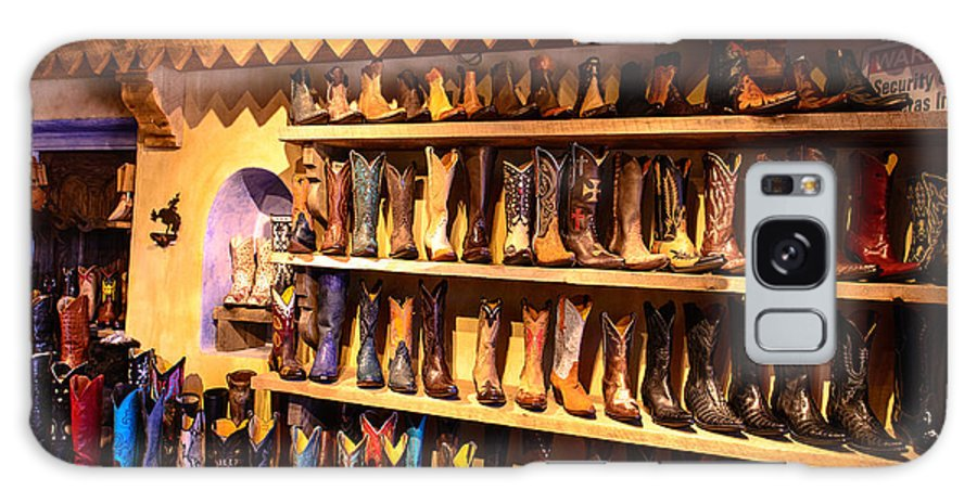 Boots Galaxy S8 Case featuring the photograph Cowboy Boots by John Johnson