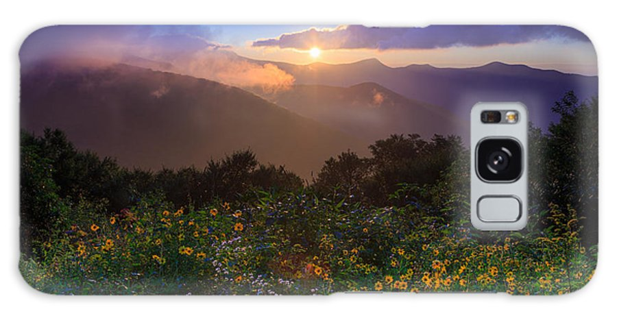 Wildflowers Galaxy S8 Case featuring the photograph Craggy Gardens Wildflowers by Jared Kay