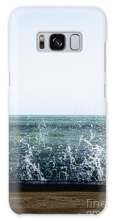 Water Galaxy S8 Case featuring the photograph Crashing by Margie Hurwich