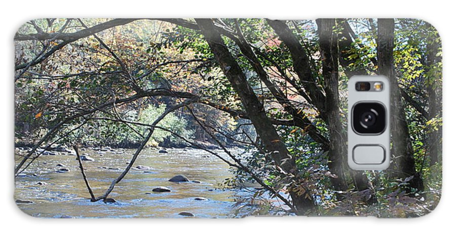 Creek Galaxy S8 Case featuring the photograph Creek 2 by Michael Rushing