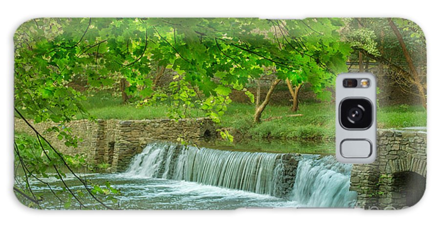 Valley Forge Galaxy S8 Case featuring the photograph creek at Valley Forge by Rima Biswas