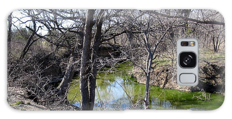 Creek Galaxy S8 Case featuring the photograph Creek In North Texas by Amy Hosp