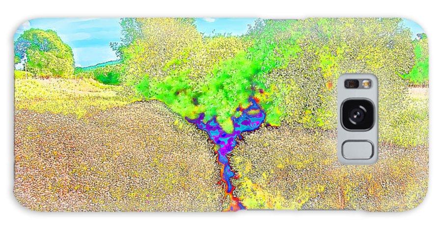 Landscape Galaxy S8 Case featuring the digital art Creek by Roman Milert