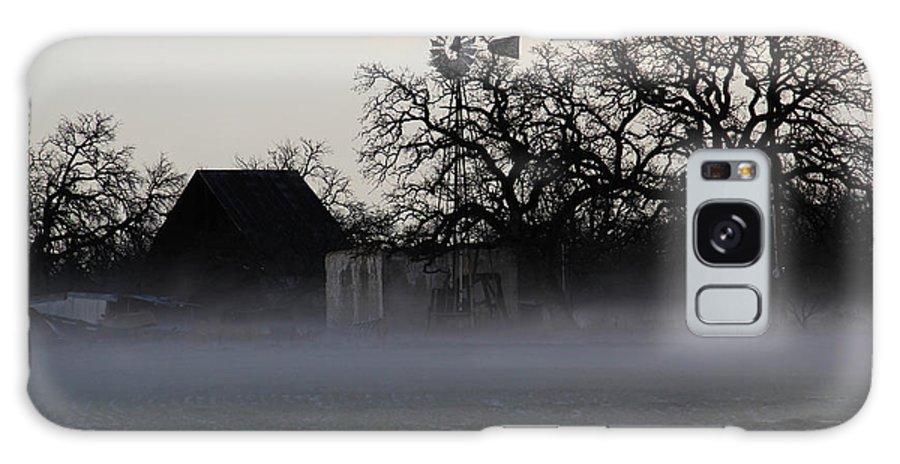 Fog Galaxy S8 Case featuring the digital art Creepy Fog by Trevor Leeper