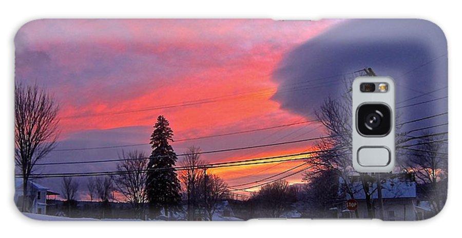 Aftermath Of Snowstorm Galaxy S8 Case featuring the photograph Crescendo by Elizabeth Tillar