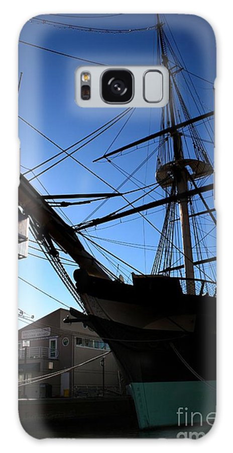 Ship Galaxy S8 Case featuring the photograph Crow's Nest by Robert McCubbin