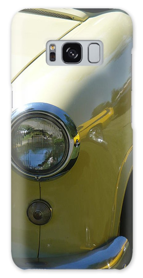Yellow Galaxy S8 Case featuring the photograph Cruise-in Car Show I by Nicki Bennett