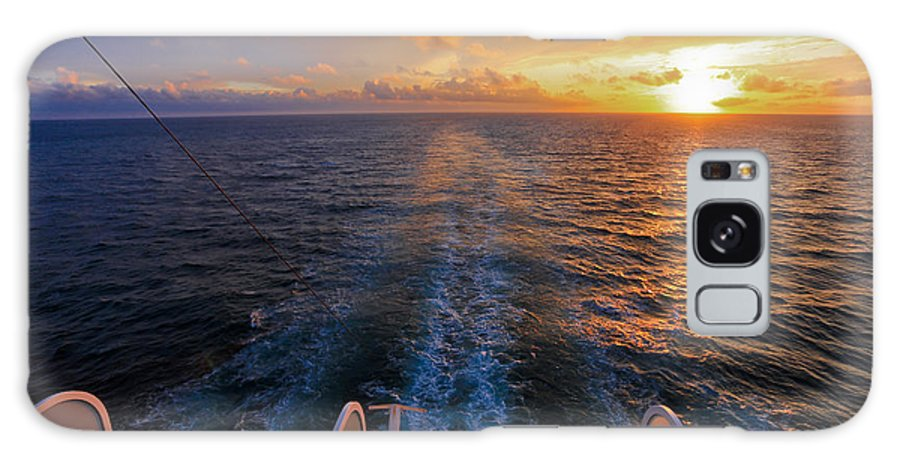 Sunset Galaxy S8 Case featuring the photograph Cruising At Sunset by John Roberts