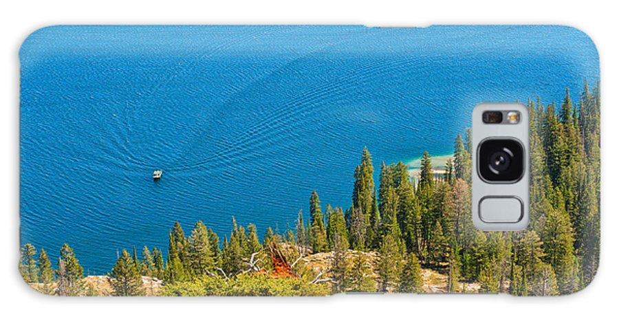 Jackson Galaxy S8 Case featuring the photograph Cruising Jenny Lake by John M Bailey