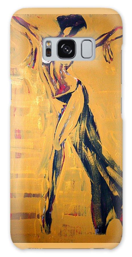 Art Galaxy S8 Case featuring the painting Cuba Rhythm by Jarmo Korhonen aka Jarko