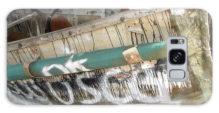 Refugee Galaxy S8 Case featuring the photograph Cuban Refugees Boat 2 by Bob Slitzan