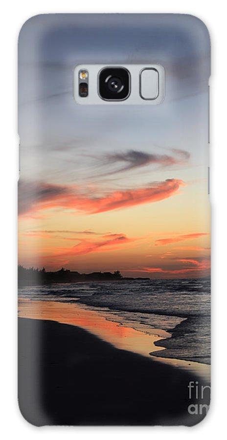 Atlantic Ocean Galaxy S8 Case featuring the photograph Cuban Sunset by Deborah Benbrook