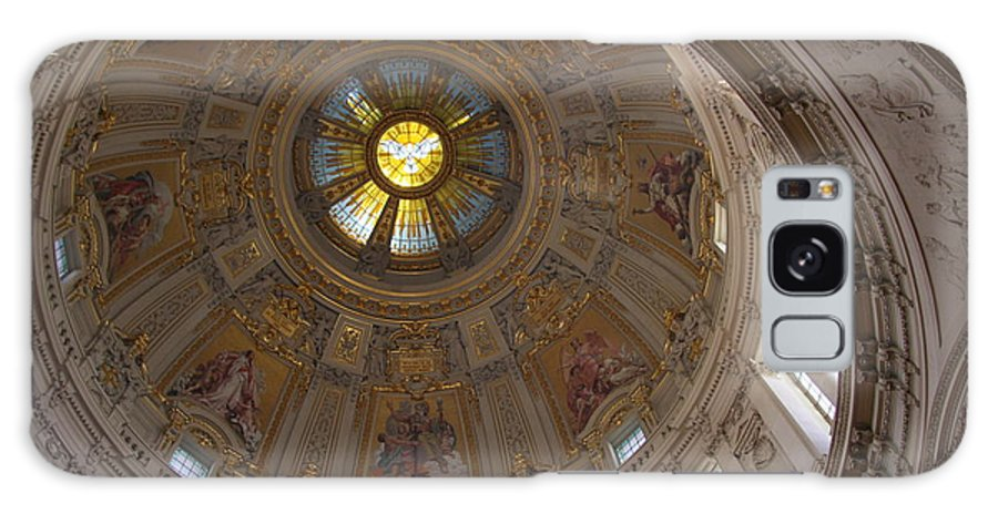 Cupola Galaxy S8 Case featuring the photograph Cupola Berliner Dom by Christiane Schulze Art And Photography