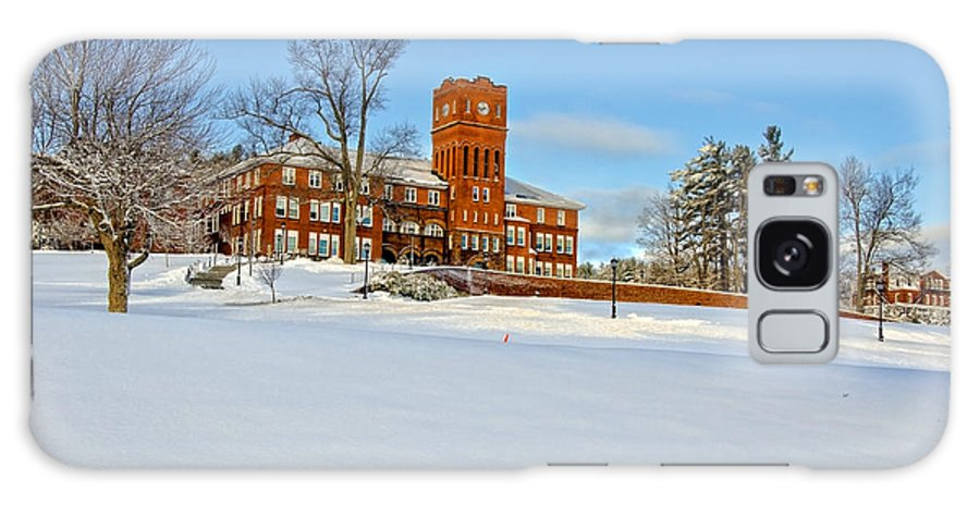 Academy Galaxy S8 Case featuring the photograph Cushing Academy In Winter by Donna Doherty