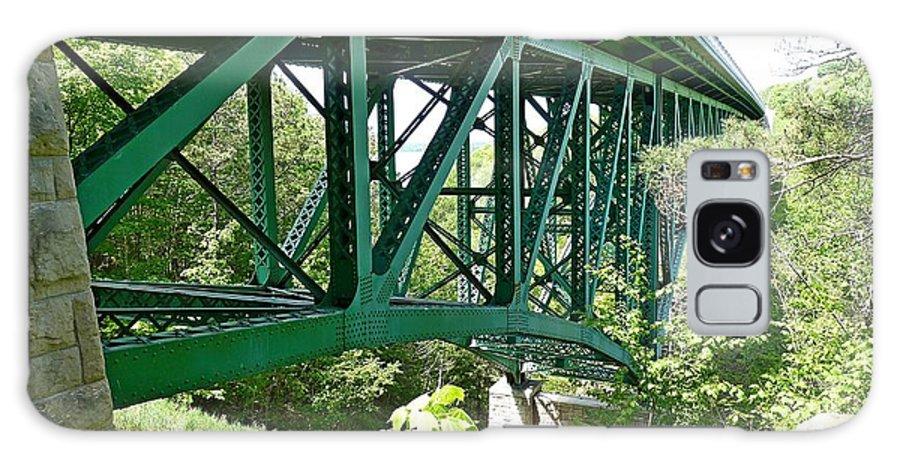Cut River Bridge Galaxy S8 Case featuring the photograph Cut River Bridge Near Epoufette Michigan by Dave Zuker