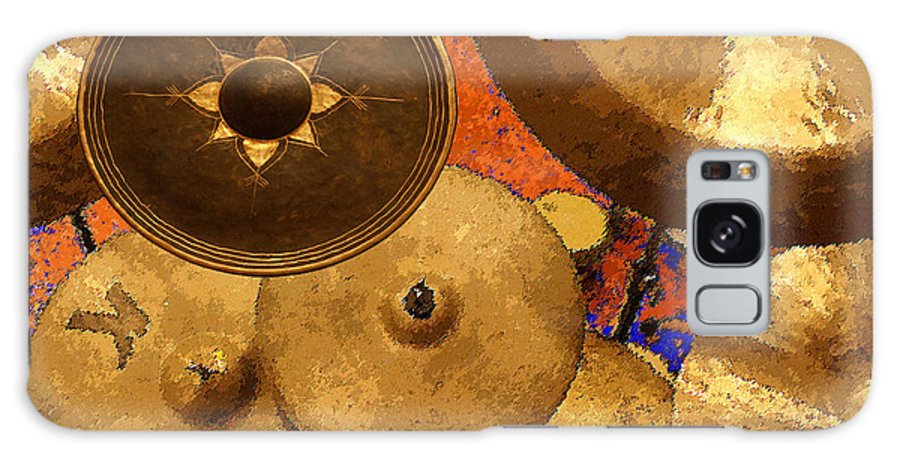 Galaxy S8 Case featuring the digital art Cymbals by Philip Dammen