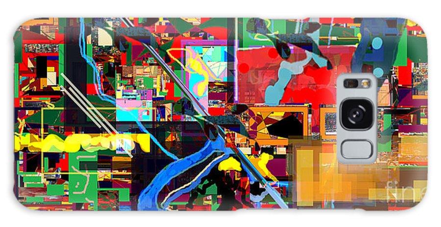 Daas Galaxy S8 Case featuring the digital art Daas 17b by David Baruch Wolk