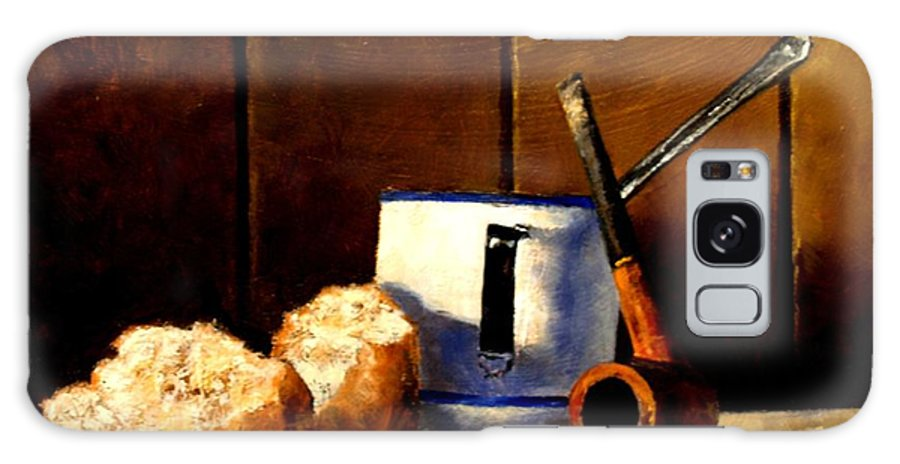 Still Life Galaxy S8 Case featuring the painting Daily Bread Ver 1 by Jim Gola