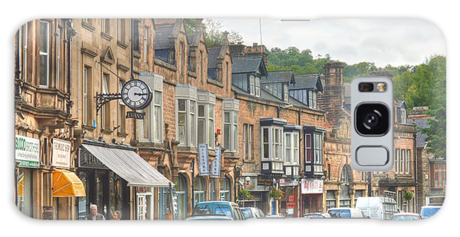 Dale Road Matlock Galaxy S8 Case featuring the photograph Dale Road - Matlock by Sarah Couzens