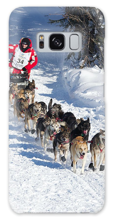 Galaxy S8 Case featuring the photograph Dallas Seavey On Long Lake 2012 by Britt Coon
