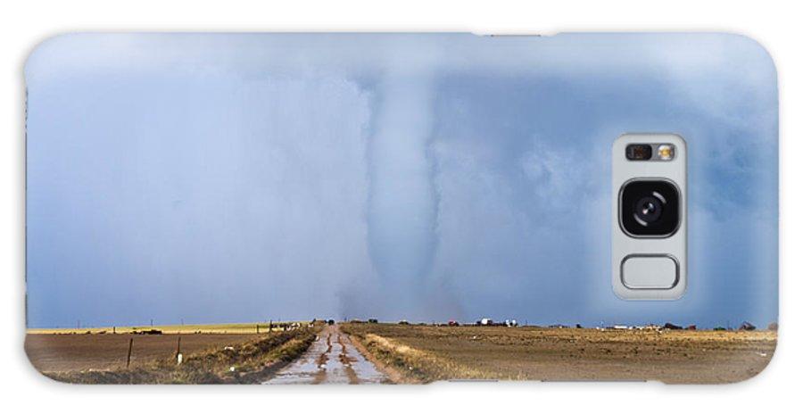 Landscape Galaxy S8 Case featuring the photograph Damage Path by Derek Stratman