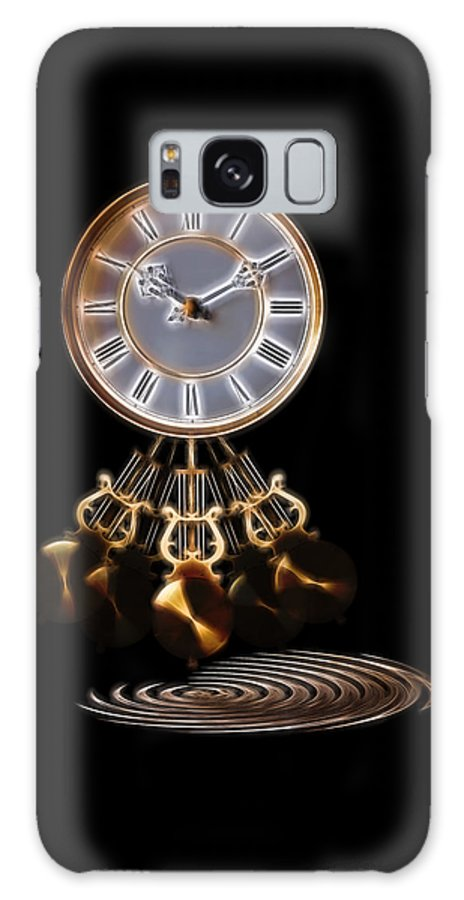 Clock Galaxy S8 Case featuring the photograph Dance Time by Gill Billington