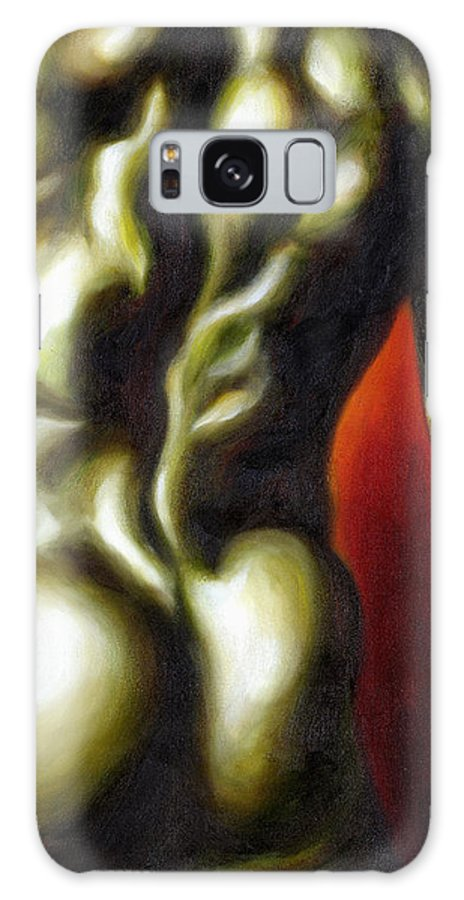 Man Nude Painting Galaxy S8 Case featuring the painting Dancer Two by Hiroko Sakai