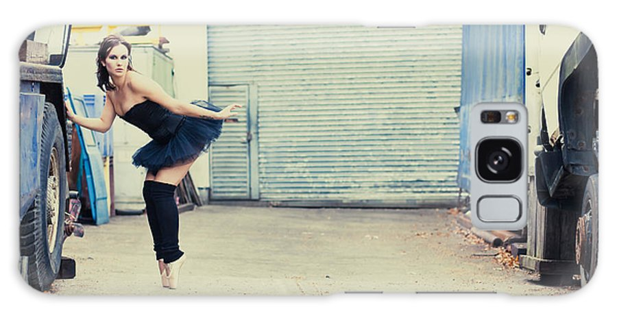 Ballerina Galaxy S8 Case featuring the photograph Dancing In A Junk Yard by Innershadows Photography