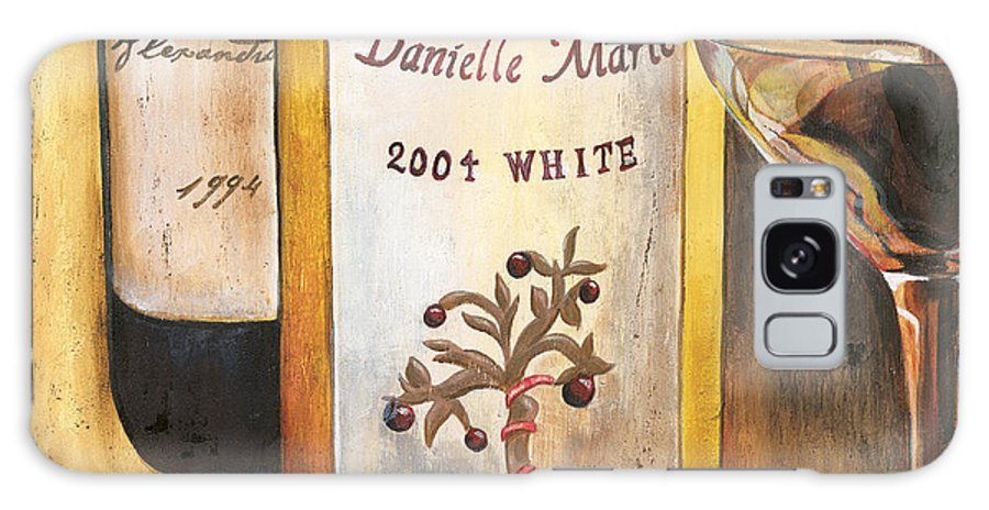 Red Grapes Galaxy S8 Case featuring the painting Danielle Marie 2004 by Debbie DeWitt