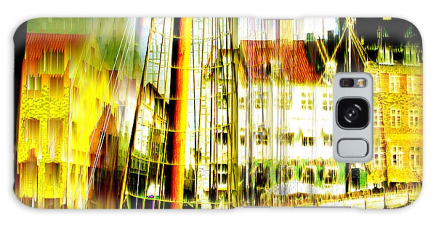 Cityscape Galaxy Case featuring the photograph Danish Harbor by Seth Weaver