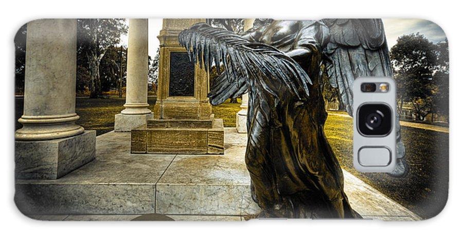 Angel Galaxy S8 Case featuring the photograph Dark Angel by Wayne Sherriff