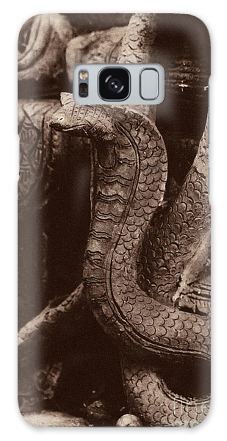Cobra Galaxy S8 Case featuring the photograph Dark Cobra by Nola Lee Kelsey