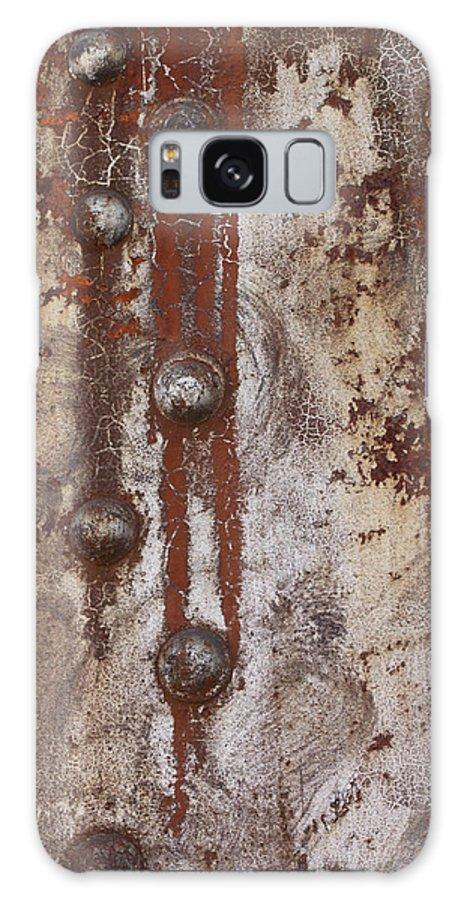 Abstract Photographs Galaxy S8 Case featuring the photograph Davenport Railroad Bridge Beam II by Heidi Brandt